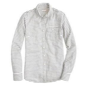 J. Crew The Boy shirt in suckered stripe Button Up